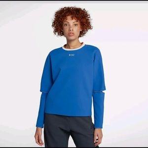Nike Womens Sportswear Tech Pack Crew Pullover